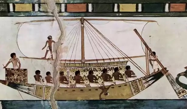 Ancient Egyptian Boats and ships Transportation