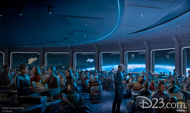 D23 Expo 2019 Disney Parks,  Guardians of the Galaxy: Cosmic Rewind