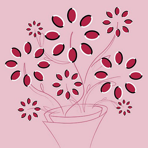 Dönen Çiçek Göz Yanılması