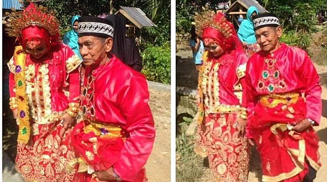Kakek 70 Tahun nikahi Gadis 28 Tahun di Sulbar, Alasan si Perempuan hanya cari kesetiaan