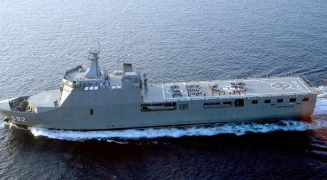 Negara Timur Tengah Tertarik Membeli Kapal Perang SSV Buatan PT PAL