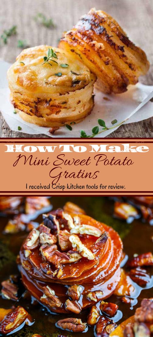 Mini Sweet Potato Gratins #vegan #vegetarian #soup #breakfast #lunch