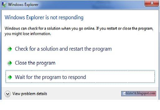 Cara Mengatasi Komputer Atau Laptop Yang Not Responding Hizto
