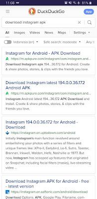 Download APK Manual Dari Internet