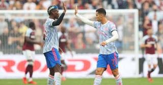 فاز مانشستر يونايتد ظهر الأحد على وست هام يونايتد 2-1 في الجولة الخامسة من الدوري الإنجليزي