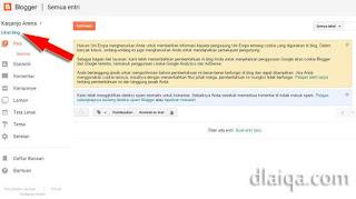 klik 'Lihat blog'