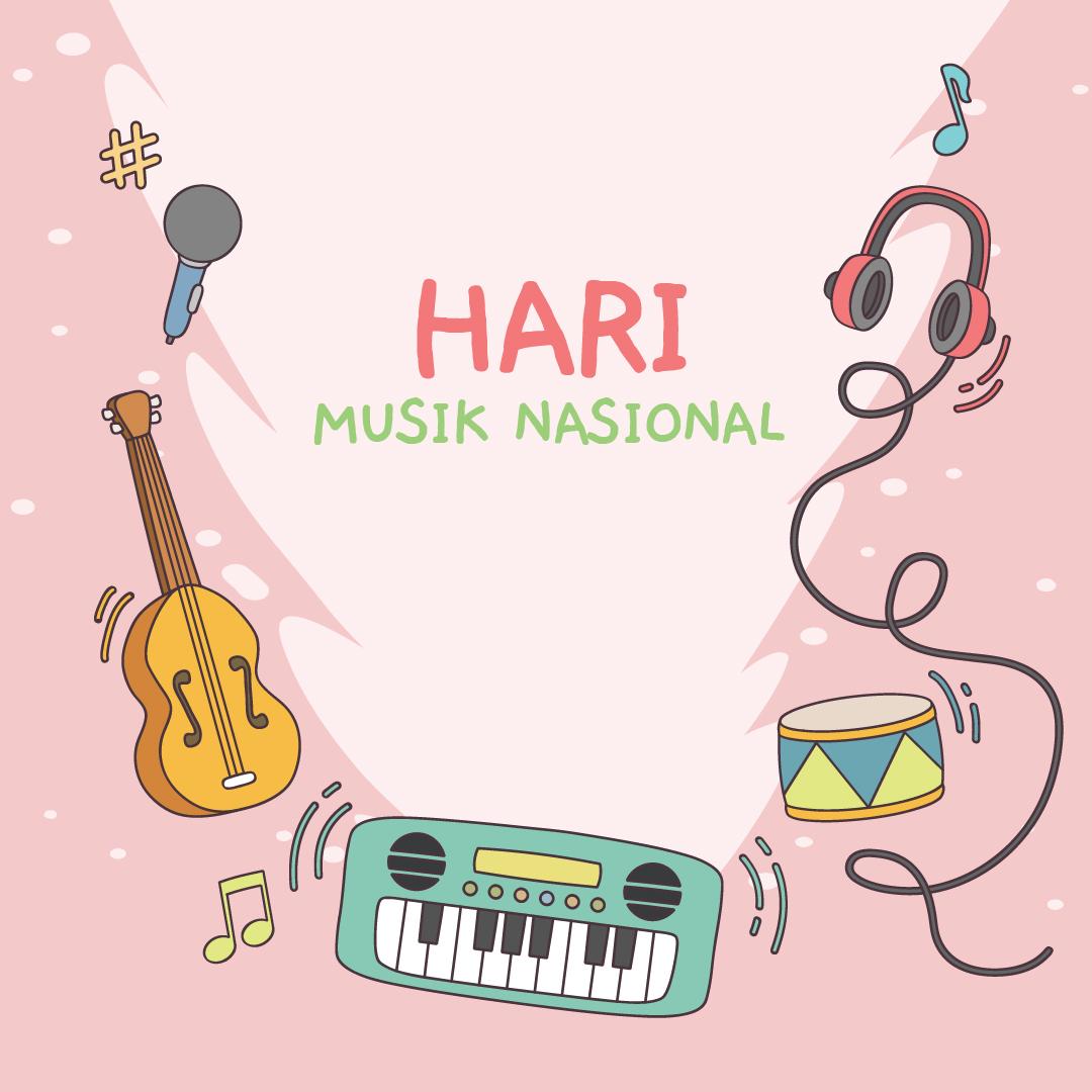 Gambar Ucapan Hari Musik Nasional 08