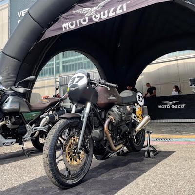 Motor Bike Expo 2021 Moto Guzzi