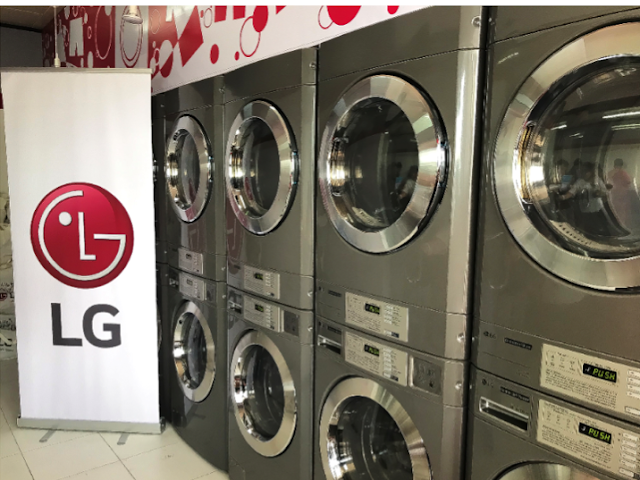 LG Philippines donated 5 sets of commercial washers and dryers