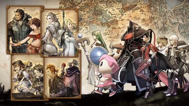Second Anniversary of OCTOPATH TRAVELER Super Smash Bros. Ultimate Spirit Event artwork