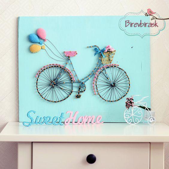 String Art Idee Decorative Con Chiodi E Filo Kreattivablog