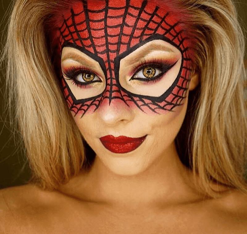 Maquiagem Aranha Halloween