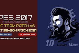 Pro Team Patch V6.0 AIO 2021 (110 GB) - PES 2017