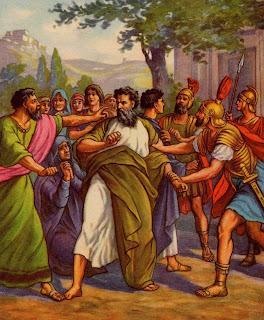 Ilustrasi Saul
