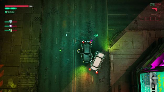 Glitchpunk is a cyberpunk GTA 2 and has an early release date