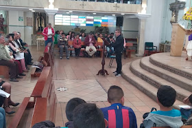 Encuentro Grupos Parroquiales en la parroquia San Agustín 2020-02-12
