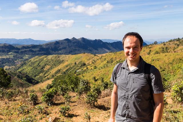 Paisajes del trekking Kalaw-Inle, Myanmar