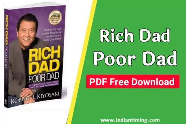 Rich Dad Poor Dad PDF Free Download   रिच डैड पुअर डैड बुक डाउनलोड करें