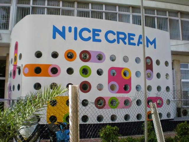 Glace, parfum, pot, crème, vanille, chocolat, LEUKSENEGAL, Dakar, Sénégal, Afrique