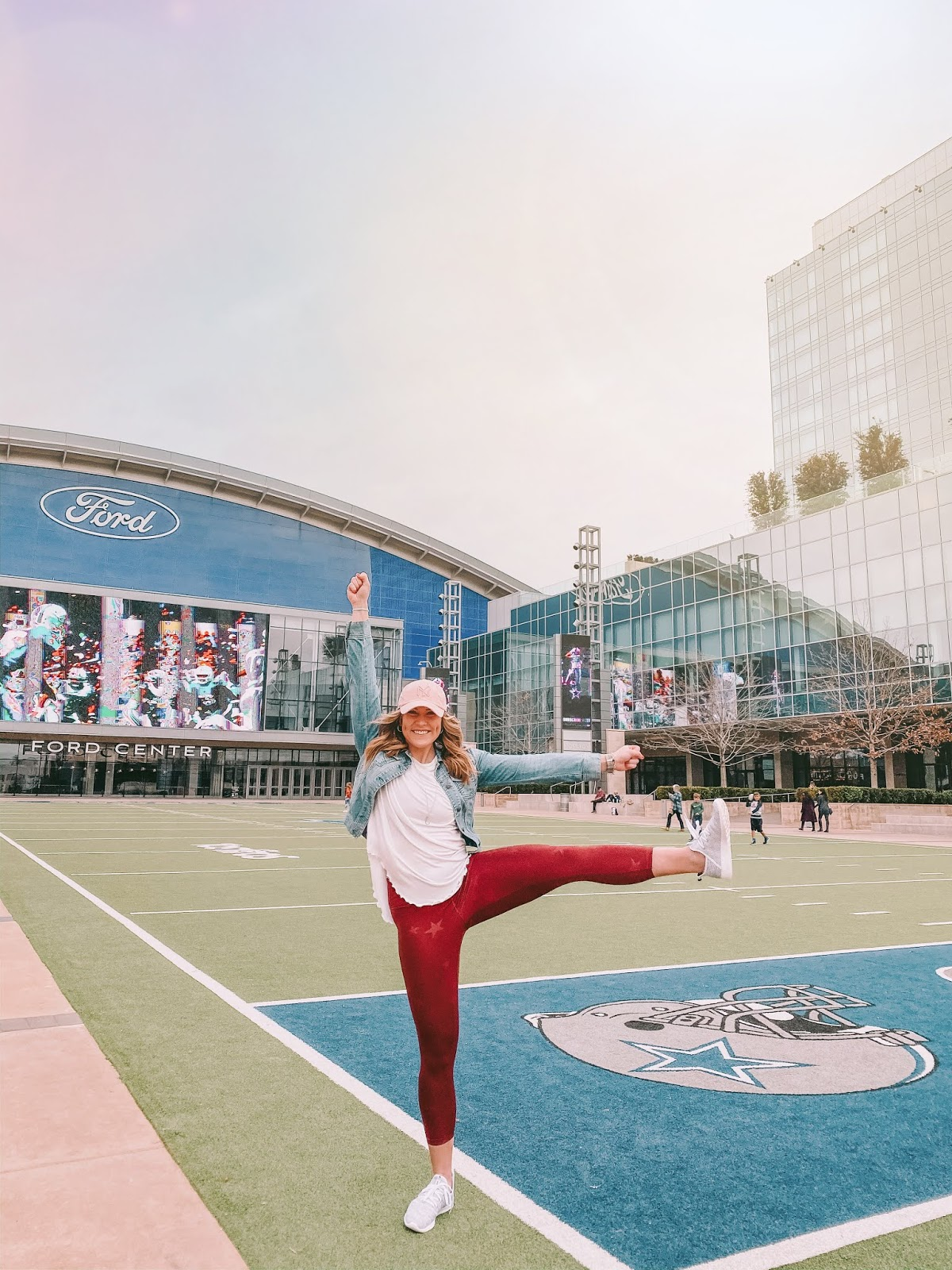 OKC lifestyle blogger Amanda's OK travels to The Star in Frisco, Texas for a girl's weekend getaway