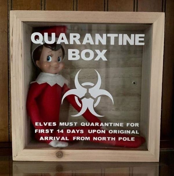 elf on the shelf quarantine box