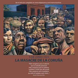 MEMORIA VIVA #8 LA MASACRE DE LA CORUÑA