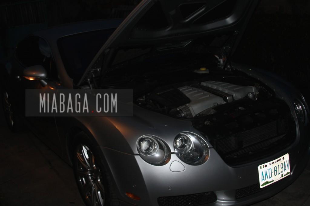Jude Abaga New Car