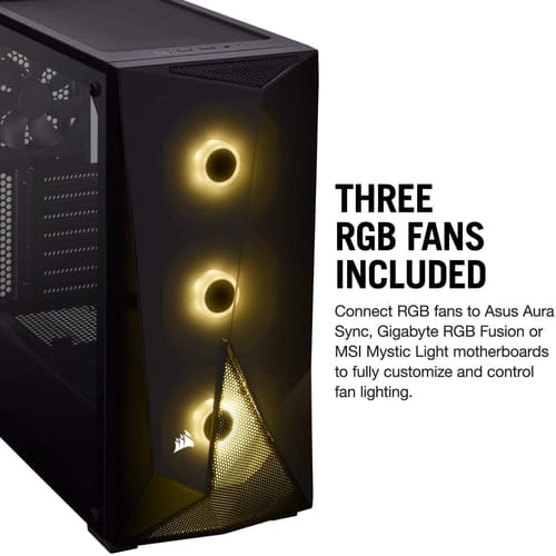 Corsair Carbide Series RGB Mid-Tower ATX Gaming Case