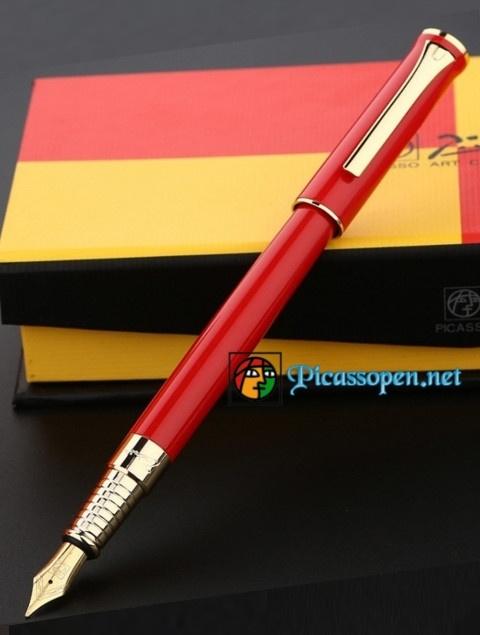 Bút máy cao cấp Picasso 988 màu đỏ