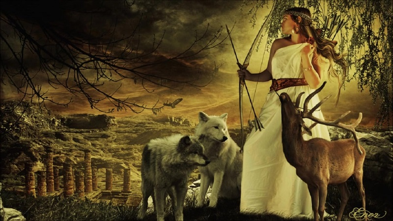 Potnia - Deusa Primitiva da Grécia Antiga