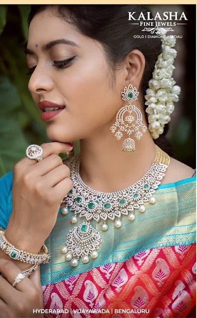 Glittering Diamond Sets by Kalasha Jewels