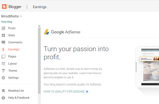 Your blog doesnot currently qualify for AdSense problem solved