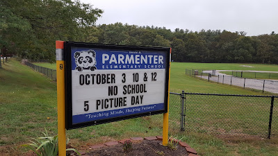 Parmenter School has picture day scheduled for Wednesday, Oct 5