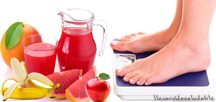 6 Frutas ayudarán a bajar de peso