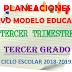 PLANEACIÓN NUEVO MODELO EDUCATIVO (Tercer Trimestre) 3° PRIMARIA CICLO ESCOLAR 2018-2019.