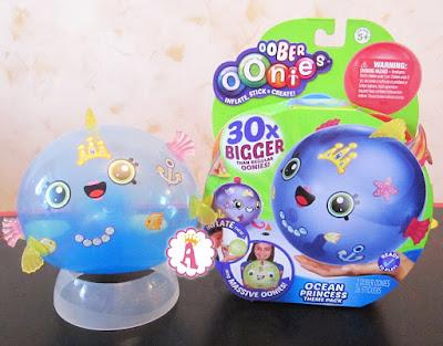 Надувной шар игрушка для детей рыбка Oonies