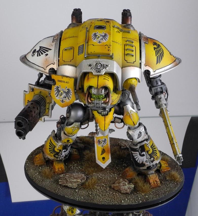 Rmv 1 Form >> MiniJunkie: Imperial Knight - House Hawkshroud - Finished