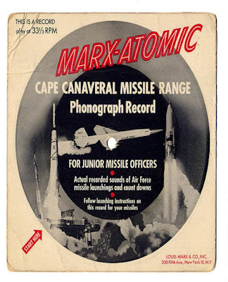 Marx Atomic -- Cape Canaveral Missle Range record