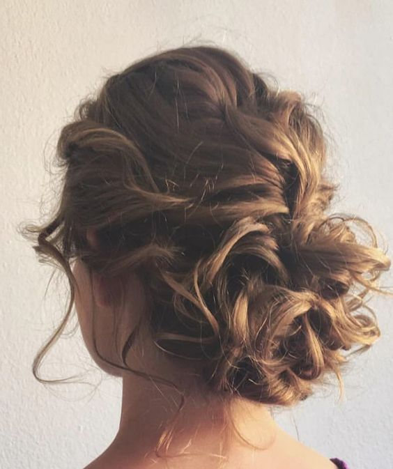 27 peinados recogidos f ciles fiesta cabello largo corto paso a paso peinados f ciles - Como hacer peinado para boda ...