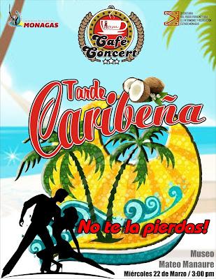 Café Concert Tarde Caribeña
