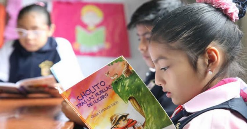 MINEDU triplicará presupuesto para bibliotecas en colegios - www.minedu.gob.pe