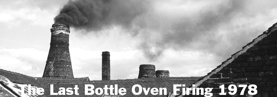 The Last Bottle Oven Firing in The Potteries 1978