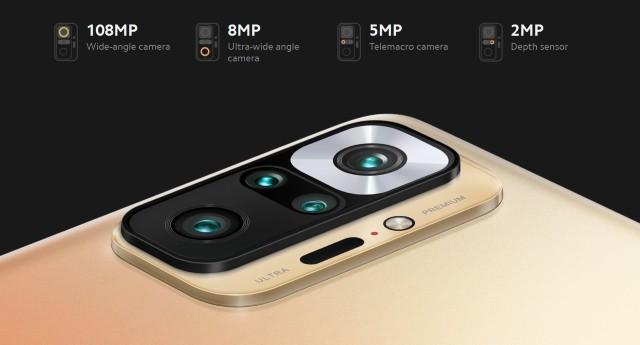 Redmi Note 10 Pro (Max) Cameras