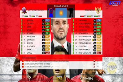 DLS Timnas Indonesia Full 32 Pemain
