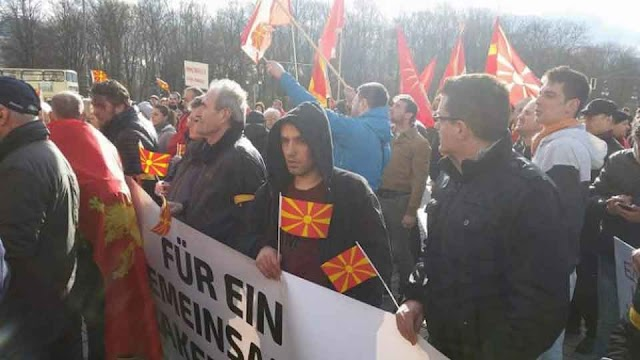 WMC: All-Macedonian Protests in Switzerland, Germany, France, Italy and UK