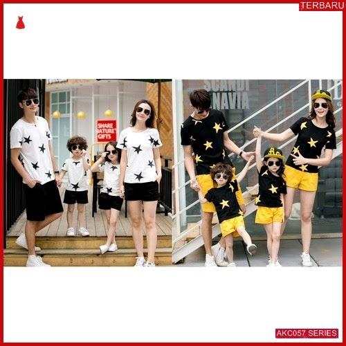 AKC057K171 Kaos Couple Baju Anak 057K171 Keluarga Family BMGShop