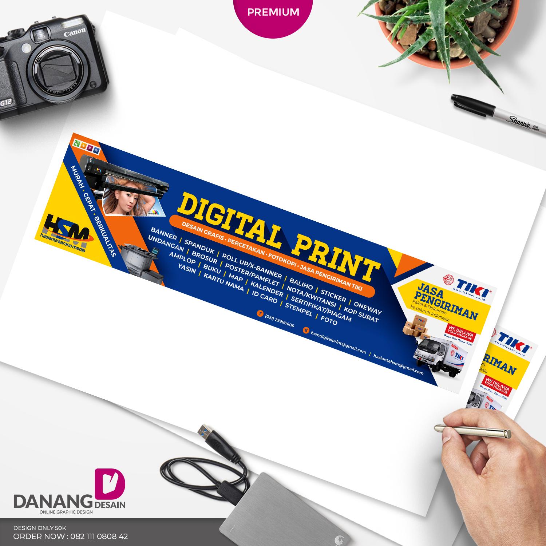Desain Spanduk: Contoh Desain Banner Spanduk Percetakan Digital Printing
