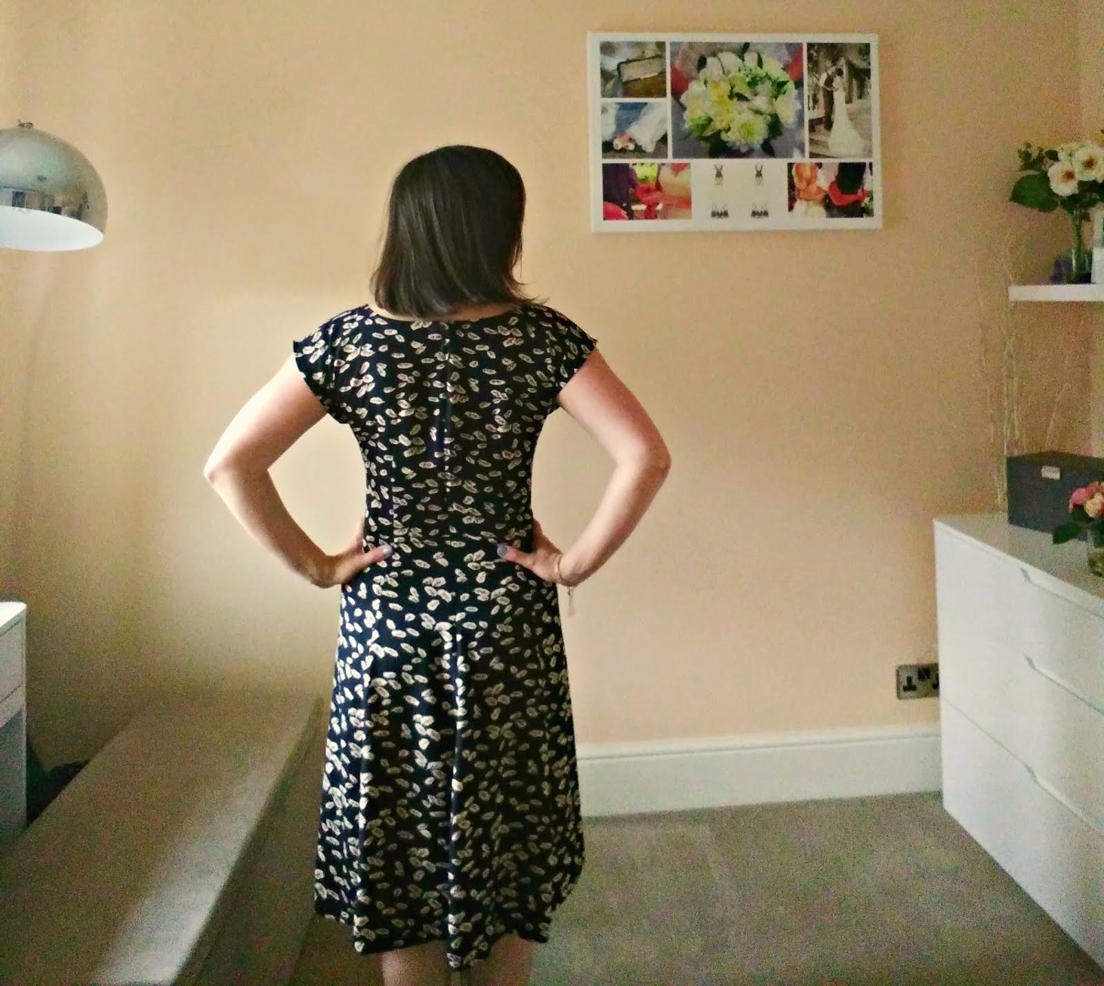 Anna Dress from By Hand London back neckline