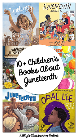 Compilation of 10+ children's books about Juneteenth, Jubilee, Civil Rights, and the Emancipation Proclamation. Fiction and nonfiction. 1st-5th grade.