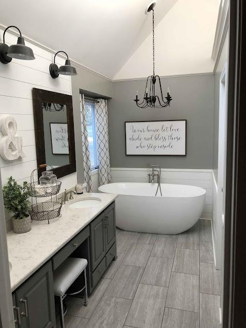 farmhouse bathroom design ideas